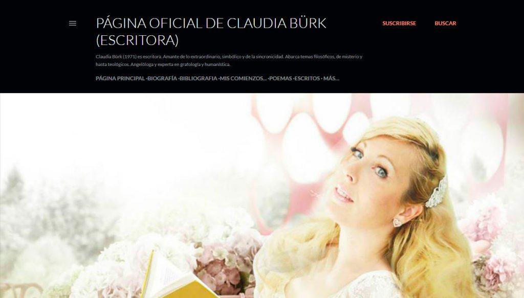 Claudia Bürk Falcón - Escritora