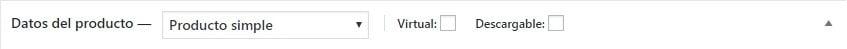 Producto Simple-Virtual-descargable