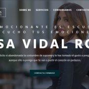 Web de Rosa Vidal